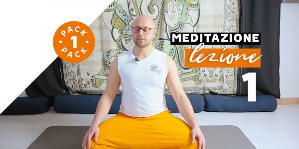 Meditazione - Lezione 1