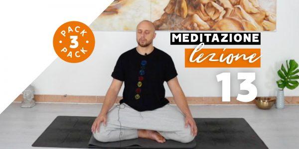 Meditazione - Lezione 13