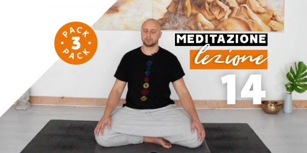 Meditazione - Lezione 14