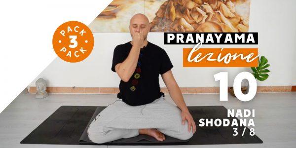 Pranayama - Lezione 10 - Nadi Shodana 3/8