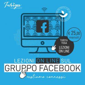 Lezioni Online sul Gruppo Facebook